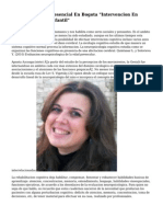 "Diplomado Semipresencial En Bogota ""Intervencion En Neuropsicologia Infantil"""