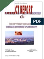 project report on HINDALCO INDUSTRIES LTD,RENUKOOT.Monika