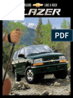 Chevrolet Blazer 2002 Misc Documents-Brochure