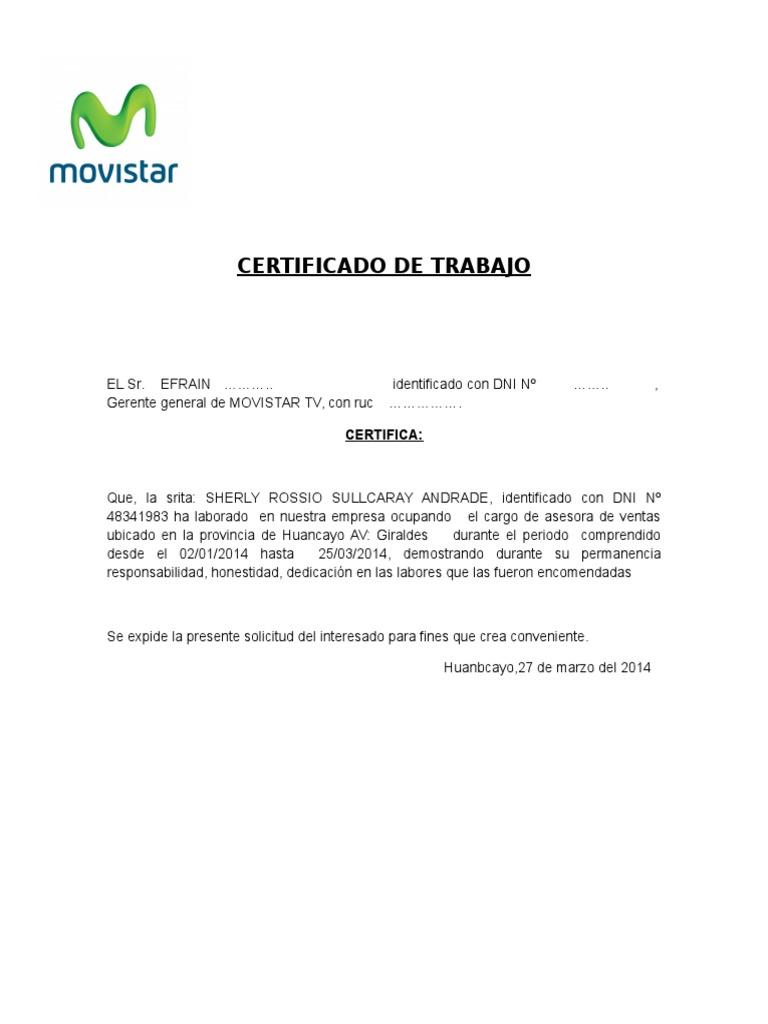 Excelente Certificado De Trabajo Regalo - Cómo conseguir mi ...