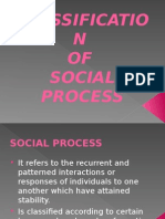 Classification of Social Process