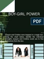 Boy Girl Power