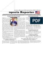 July 15 - 21, 2015 Sports Reporter