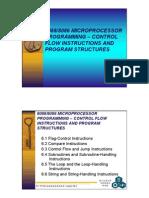 8086 micro processer control programing