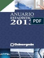 ANUARIO ELECTRICO 2013