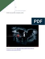 Analisis de Constantine la Pelicula