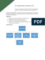 Manual de Funciones Para La Empresa
