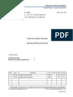 Modelo Especificação de Materiais