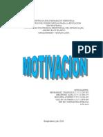 Informe de Motivación