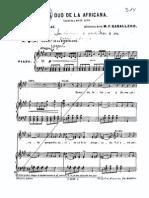 """Coro de la murmuracion, de """"El duo de la africana"""""""