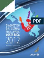 Costa Rica Diagnóstico Sistema Penal Juvenil 2012