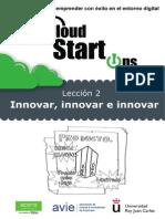 Tema 2- Innovar, Innovar, e Innovar