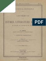 Contribuții la istoria literaturii române în veacul al XVIII-lea și al XIX-lea vol. 1 Scriitori bisericești - N. Iorga.pdf