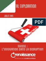 Rennaissance numérique rapport suisse
