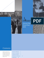 Congressional Research Service Modified Annual Report FY2008