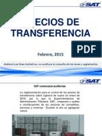 Precios de Transferencia Febrero 2015
