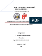 Manual Sistema Integrado de Gestión Fundición ILO