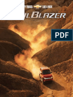 Chevrolet Trailblazer 2002 Misc Documents-Brochure