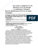 11-08-14 Ley de La Industria Eléctrica