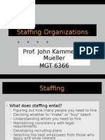1 Introduction to staffing