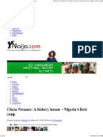 Cheta Nwanze_ a History Lesson - Nigeria's First Coup