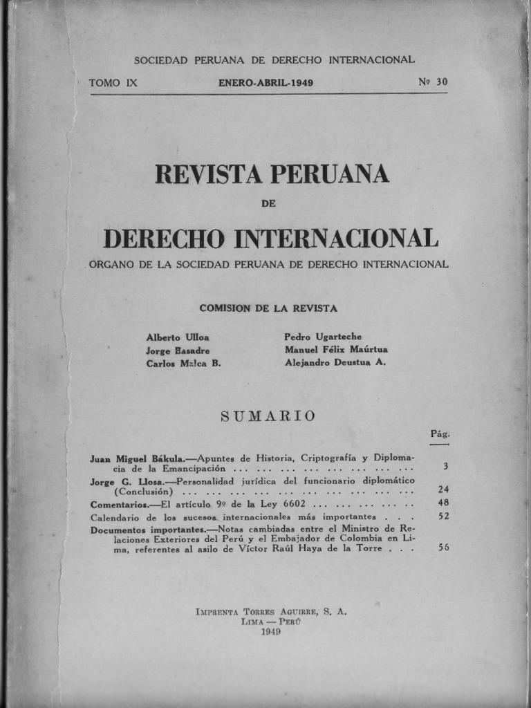 Calendario 1949.Rpdi N 30