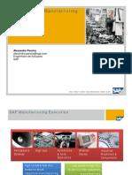 SAP Manufacturing Execution SAP MII