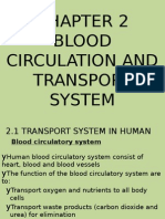 2013 Blood Circulation and Transport System