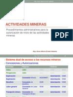 Actividad Minera