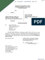 Wilkes v. Chisox Corp. et al - Document No. 20