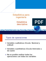 2. Estadística Descriptiva (1)