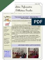 Boletim  Informativo da BE - Novembro 09