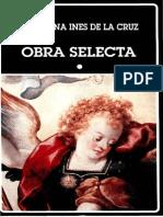 Obra Selecta I Sor Juana Inés de la Cruz