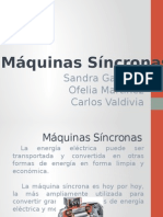 Maquinas Sincronas Presentacion Final