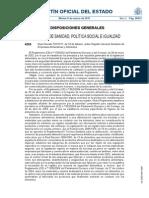 Real Decreto 191-2011 General Sanitario de Alimentos