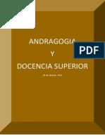 Andragogía y Docencia Superior
