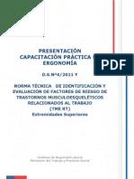 Material Apoyo Capacitacion Norma Tecnica 2014 - Ergonomía
