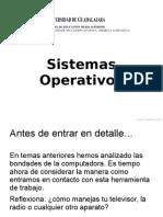 Presentación. Sistemas Operativos.