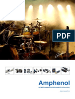 Amphenol Audio Catalogue