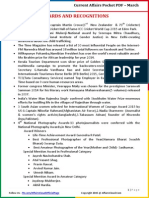 Current Affairs Pocket PDF - March 2015 by AffairsCloud