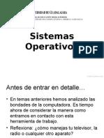 Presentación.Sistemas Operativos.
