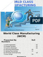 World Class Manufacturing Final