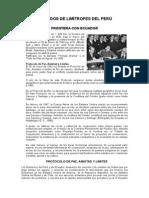 Tratados de Limitrofes Del Peru