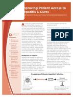 Improving Patient Access to Hepatitis C Cures