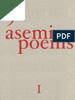 9 Asemic Poems