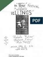 Tellings by Rochelle Ratner