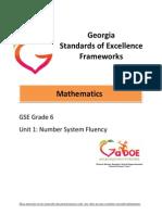 gse math unit 1