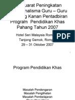 Program Pendidikan Khas