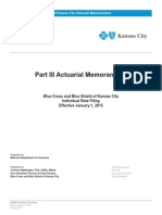 2015 Blue Cross and Blue Shield of Kansas City Individual-1 Rate Filing