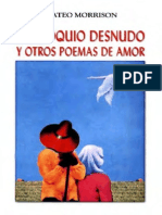 Mateo Morrison - Soliloquio Desnudo y Otros Poemas de Amor